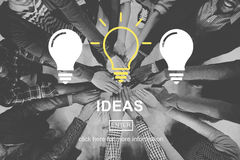 Ideas Thinking Thoughts Vision Brainstorm Concept Royalty Free Stock Photos