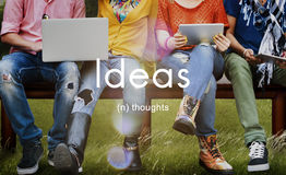 Ideas Thoughts Creativity Inspiration Imagination Concept Royalty Free Stock Photo