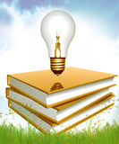 Ideas Through Education And Knowledge Stock Photo
