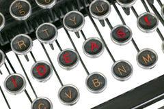 Ideas on typwewriter Royalty Free Stock Images