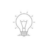 Ideas Vector Line Icon Royalty Free Stock Photo