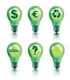 Ideas verdes Fotos de archivo