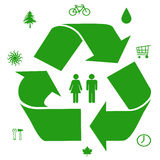 Ideas verdes Imagenes de archivo
