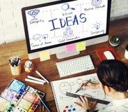 Ideas Vision Positive Attitude Inspiring Concept Royalty Free Stock Photo