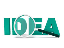 Ideas Word Shows Creativity Concept Idea Royalty Free Stock Photos