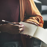 Ideas Writing Thinking Diary Connection Concept Stock Image