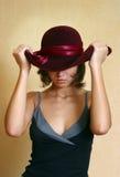 Ideeën in een hoed royalty-vrije stock afbeeldingen