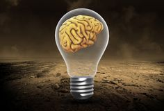 Ideeën, Hersenen, Innovatie, Succes, Doelstellingen, Succes stock fotografie
