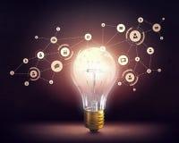 Ideeën voor efficiënt voorzien van een netwerk Royalty-vrije Stock Fotografie