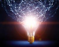 Ideeën voor efficiënt voorzien van een netwerk Stock Afbeeldingen