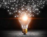 Ideeën voor efficiënt voorzien van een netwerk Stock Foto