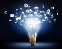 Ideeën voor efficiënt voorzien van een netwerk Royalty-vrije Stock Afbeelding