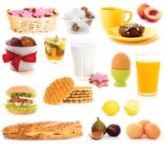 Ideeën voor ontbijt Stock Foto