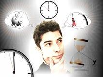 Ideeën voor sparen tijd Royalty-vrije Stock Afbeelding