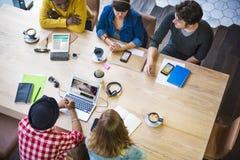Ideeëncreativiteit Planningsbureau het Werk Koffieconcept royalty-vrije stock foto's