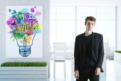 Idee creative di affari Immagini Stock Libere da Diritti