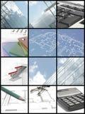 Idee dell'architetto Fotografia Stock