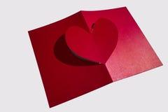 Idee della carta del biglietto di S. Valentino immagini stock libere da diritti