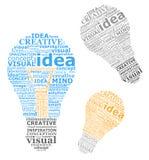 Idee delle lampadine royalty illustrazione gratis