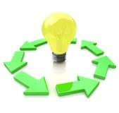 Idee di concetto Immagini Stock