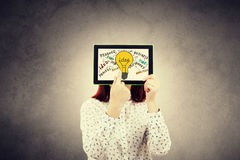 Idee di tecnologia di affari Immagini Stock