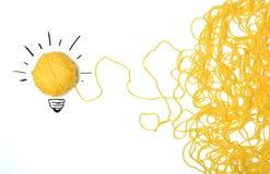 Idee en innovatieconcept Stock Afbeeldingen