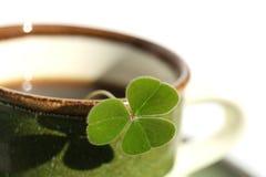 Idee ist vom Tasse Kaffee geboren Lizenzfreie Stockfotografie
