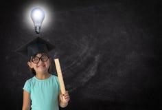 Idee, istruzione, imparando, insegnando, insegnante, studente fotografia stock