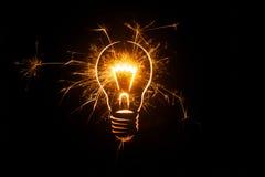 Idee luminose Fotografia Stock