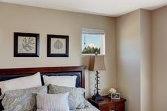 Idee per la decorazione della camera da letto Fotografia Stock Libera da Diritti
