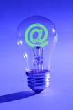 Idee und das Internet Stockbild