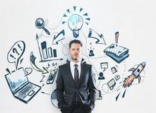 Idee und Finanzkonzept Lizenzfreies Stockbild