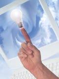 Idee und Internet Lizenzfreies Stockfoto
