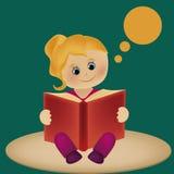 Idee van een boek Vector Illustratie