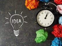 Ideea concept Stock Photo