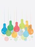 Ideeconcept met Kleurrijke illustratie Royalty-vrije Stock Foto