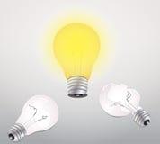 Ideelamp Stock Afbeelding