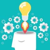 Ideelancering stock illustratie