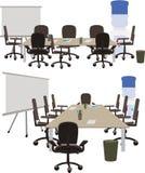 Ideen Arbeits zu besprechen, Büroräume sich Lizenzfreie Stockfotografie