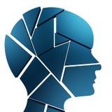Ideen denken Durchschnitte an Konzepte und Erfindung lizenzfreie abbildung