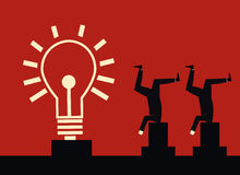 Ideen-Energie Stock Abbildung
