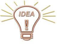 Ideen-Fühler lizenzfreie abbildung