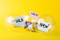 Ideen für Verkauf Lizenzfreie Stockfotografie