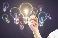 Ideen-, Innovations- und Inspirationskonzept Lizenzfreie Stockbilder