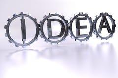 Ideen-Konzept Lizenzfreies Stockbild