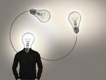 Ideen-Mann Lizenzfreie Stockbilder