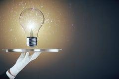 Ideen- und Leistungskonzept Stockfotos