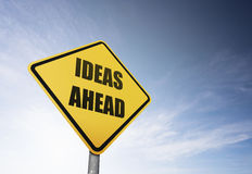 Ideen voran lizenzfreie stockbilder
