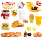 Ideen zum Frühstück stockfoto