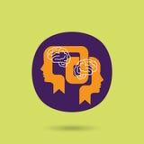 Ideenaustauschkonzept - Illustration Lizenzfreie Stockfotos